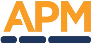 Logo for APM